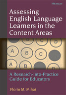 Cover image for 'Assessing English Language Learners in the Content Areas'