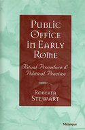 Book cover for 'Public Office in Early Rome'