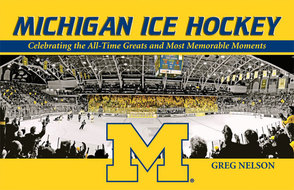 Book cover for 'Michigan Ice Hockey'
