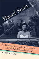 Book cover for 'Hazel Scott'