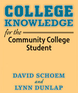 Book cover for 'College Knowledge for the Community College Student'