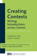 Cover image for 'Creating Contexts'