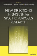 Cover image for 'New Directions in English for Specific Purposes Research'