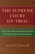 Book cover for 'The Supreme Court on Trial'