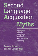 Book cover for 'Second Language Acquisition Myths'
