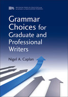 Book cover for 'Grammar Choices for Graduate and Professional Writers'