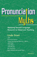 Book cover for 'Pronunciation Myths'
