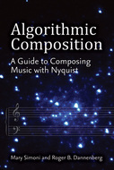 Book cover for 'Algorithmic Composition'