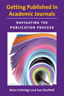 Cover image for 'Getting Published in Academic Journals'