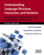 Cover image for 'Understanding Language Structure, Interaction, and Variation, Third Ed.'