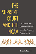 Book cover for 'The Supreme Court and the NCAA'