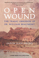 Book cover for 'Open Wound'