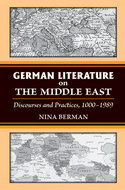 Book cover for 'German Literature on the Middle East'