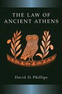 Book cover for 'The Law of Ancient Athens'