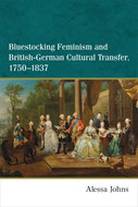 Book cover for 'Bluestocking Feminism and British-German Cultural Transfer, 1750-1837'