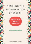 Book cover for 'Teaching the Pronunciation of English'