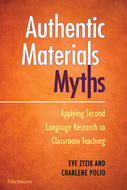 Book cover for 'Authentic Materials Myths'