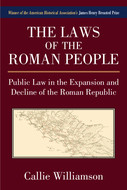 Book cover for 'The Laws of the Roman People'