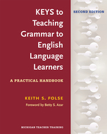 Cover image for 'Keys to Teaching Grammar to English Language Learners, Second Ed.'