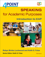 Product cover for '4 Point Speaking for Academic Purposes: Introduction to EAP'