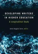Book cover for 'Developing Writers in Higher Education'