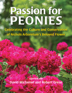 Book cover for 'Passion for Peonies'