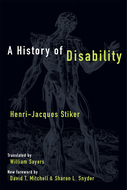 Product cover for 'A History of Disability'