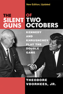 Book cover for 'The Silent Guns of Two Octobers'
