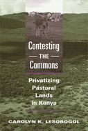 Book cover for 'Contesting the Commons'