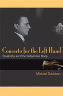 Book cover for 'Concerto for the Left Hand'