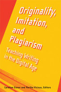 Book cover for 'Originality, Imitation, and Plagiarism'