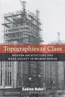 Book cover for 'Topographies of Class'