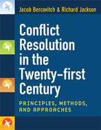 Book cover for 'Conflict Resolution in the Twenty-first Century'