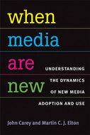 """When Media Are New: Understanding the Dynamics of New Media Adoption and Use"" icon"