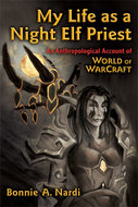 Book cover for 'My Life as a Night Elf Priest'
