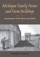 Book cover for 'Michigan Family Farms and Farm Buildings'
