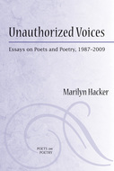 Book cover for 'Unauthorized Voices'