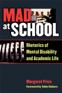 Book cover for 'Mad at School'