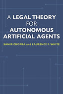 Book cover for 'A Legal Theory for Autonomous Artificial Agents'