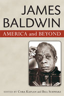 Book cover for 'James Baldwin'