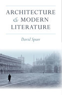 Book cover for 'Architecture and Modern Literature'