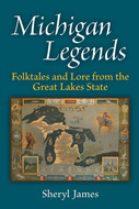 Book cover for 'Michigan Legends'