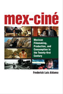 Book cover for 'Mex-Ciné'