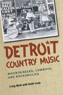 Book cover for 'Detroit Country Music'