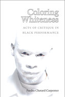 Book cover for 'Coloring Whiteness'