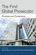 Book cover for 'The First Global Prosecutor'