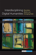 Book cover for 'Interdisciplining Digital Humanities'