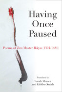 Cover image for 'Having Once Paused'