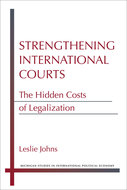 Cover image for 'Strengthening International Courts'