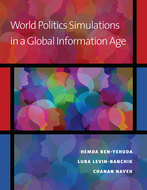 Cover image for 'World Politics Simulations in a Global Information Age'